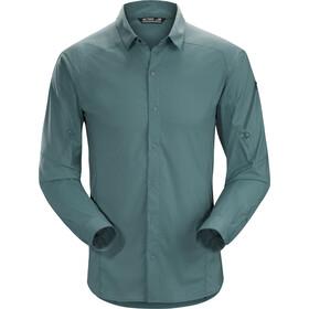 Arc'teryx Elaho Longsleeve Shirt Heren, neptune
